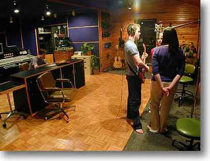 Praise and Worship recording center