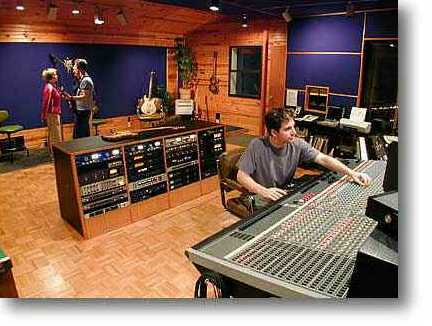 The big, beautiful, comfortable and sonically accurate control room.